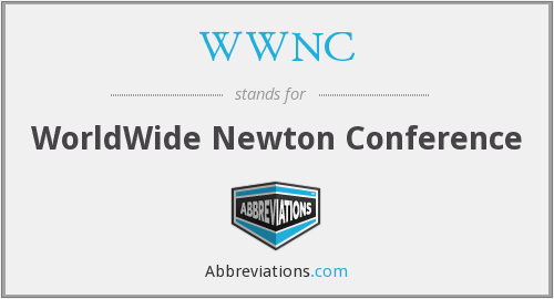 WWNC - WorldWide Newton Conference