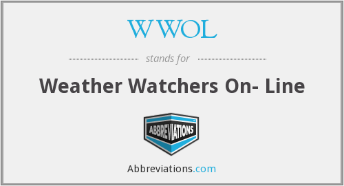 WWOL - Weather Watchers On- Line