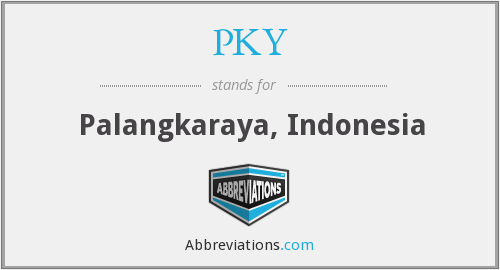 What does PKY stand for?
