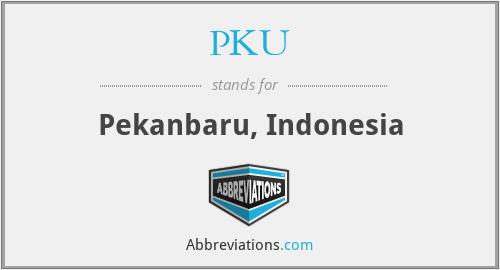 PKU - Pekanbaru, Indonesia