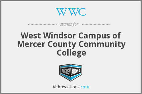 WWC - West Windsor Campus of Mercer County Community College