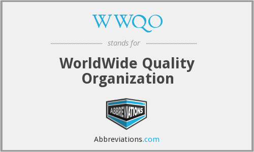 What does WWQO stand for?