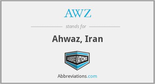 AWZ - Ahwaz, Iran
