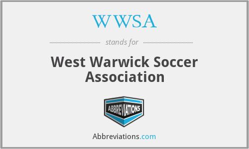WWSA - West Warwick Soccer Association