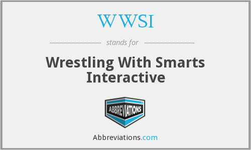 WWSI - Wrestling With Smarts Interactive