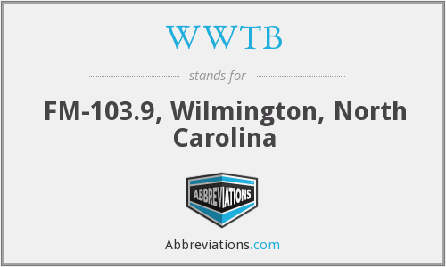 WWTB - FM-103.9, Wilmington, North Carolina
