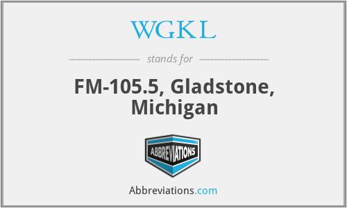 WGKL - FM-105.5, Gladstone, Michigan