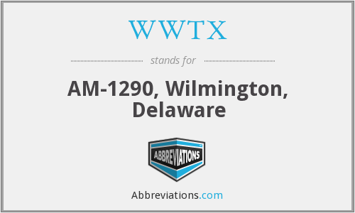 WWTX - AM-1290, Wilmington, Delaware