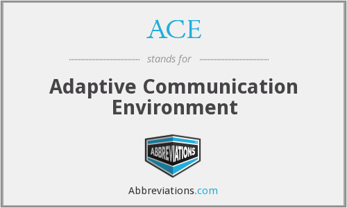ACE - Adaptive Communication Environment