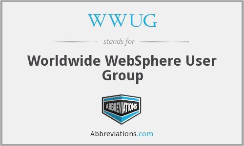 WWUG - Worldwide WebSphere User Group