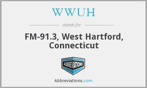 WWUH - FM-91.3, West Hartford, Connecticut