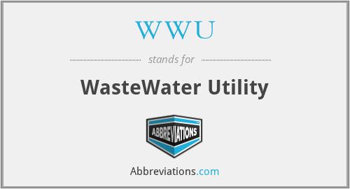 WWU - WasteWater Utility