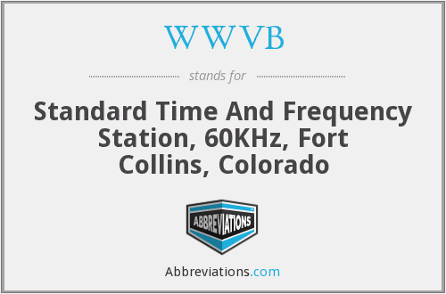 WWVB - Standard Time And Frequency Station, 60KHz, Fort Collins, Colorado