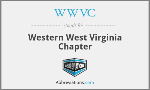 WWVC - Western West Virginia Chapter