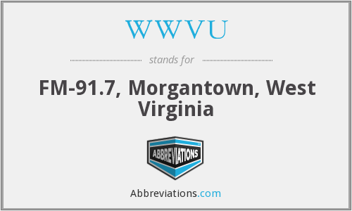 WWVU - FM-91.7, Morgantown, West Virginia