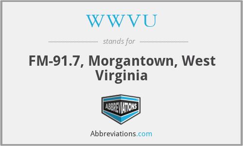 WWVU - FM-91.7, Morgantown, West Virginia