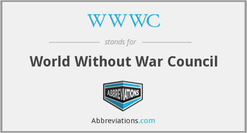 WWWC - World Without War Council