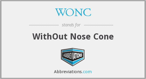 What does WONC stand for?