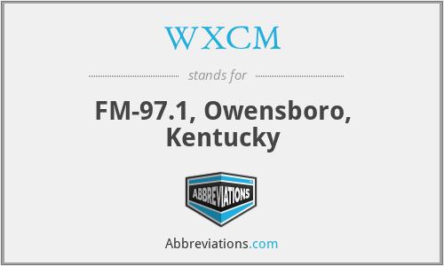 WXCM - FM-97.1, Owensboro, Kentucky