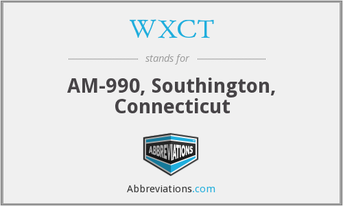 What does WXCT stand for?