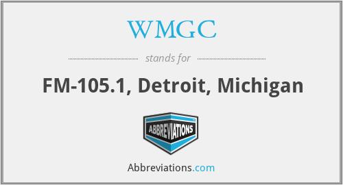 WMGC - FM-105.1, Detroit, Michigan