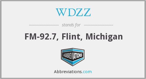 WDZZ - FM-92.7, Flint, Michigan
