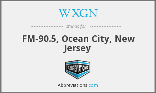 WXGN - FM-90.5, Ocean City, New Jersey