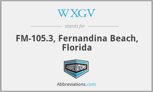 WXGV - FM-105.3, Fernandina Beach, Florida