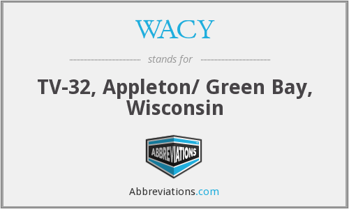 WACY - TV-32, Appleton/ Green Bay, Wisconsin