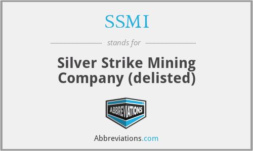 SSMI - Silver Strike Mining Company (delisted)