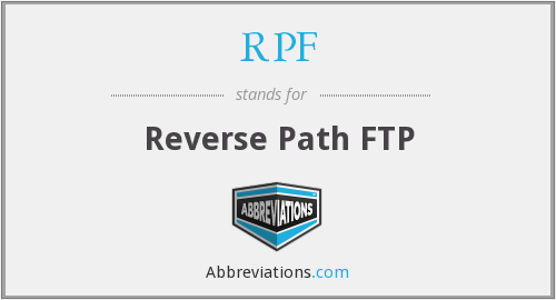 RPF - Reverse Path FTP