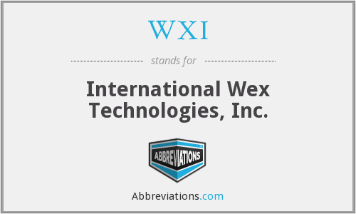 What does WXI stand for?