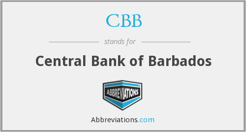 CBB - Central Bank of Barbados