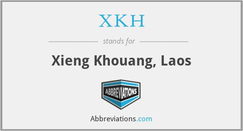 XKH - Xieng Khouang, Laos