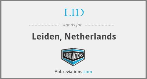 LID - Leiden, Netherlands