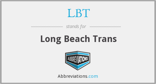 LBT - Long Beach Trans