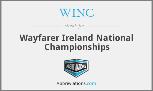 WINC - Wayfarer Ireland National Championships