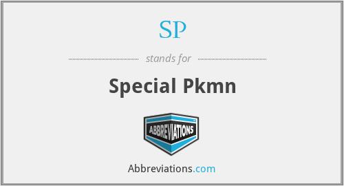 SP - Special Pkmn