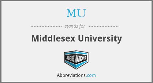 MU - Middlesex University