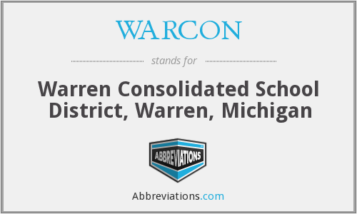 What does WARCON stand for?