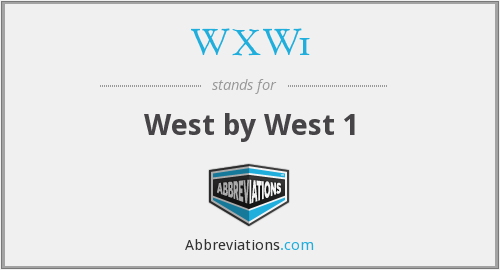What does WXW1 stand for?