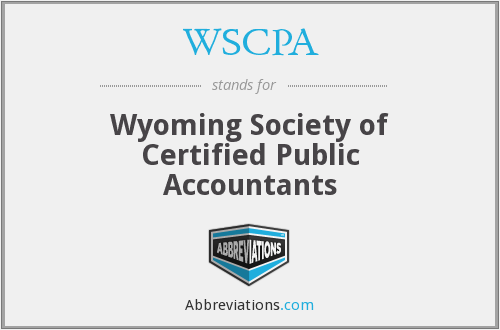 WSCPA - Wyoming Society of Certified Public Accountants