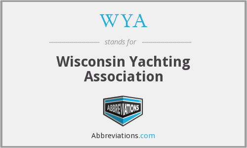 WYA - Wisconsin Yachting Association