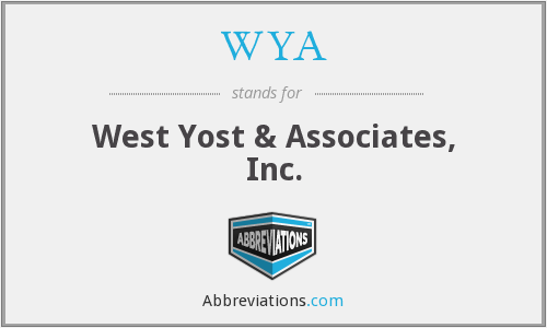 WYA - West Yost & Associates, Inc.