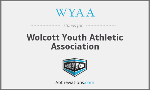 WYAA - Wolcott Youth Athletic Association