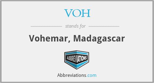 VOH - Vohemar, Madagascar