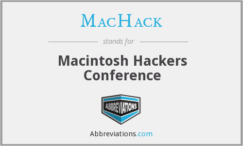 What does MACHACK stand for?