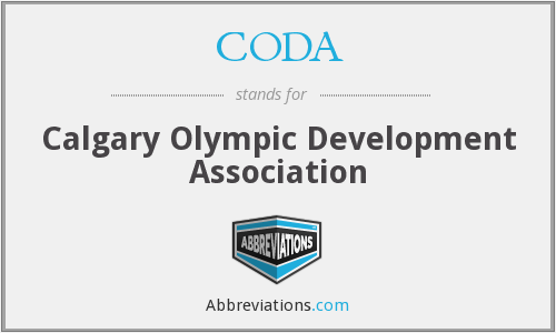 CODA - Calgary Olympic Development Association