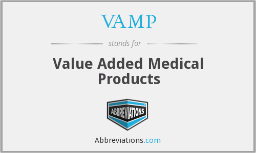 VAMP - Value Added Medical Products