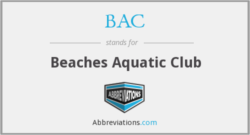 BAC - Beaches Aquatic Club